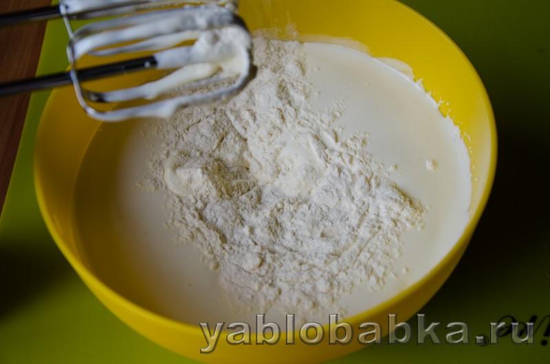 Бисквитный рулет очен вкусный и простой рецепт с яблоками: фото 10