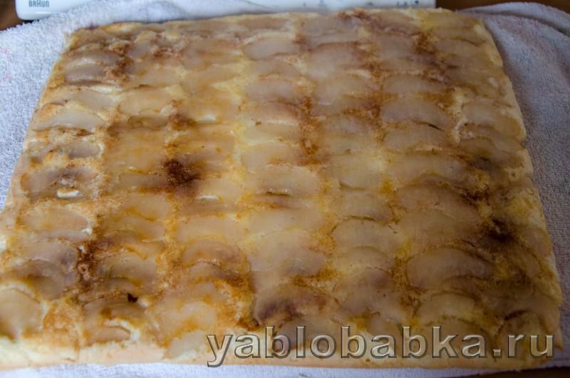 Бисквитный рулет очен вкусный и простой рецепт с яблоками: фото 13