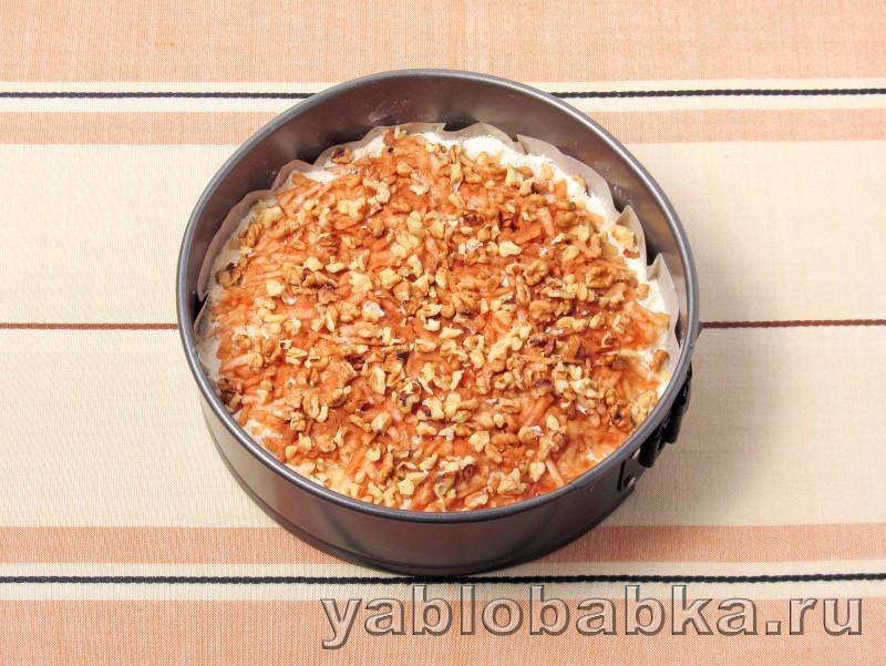Болгарский яблочный пирог с манкой: фото 7