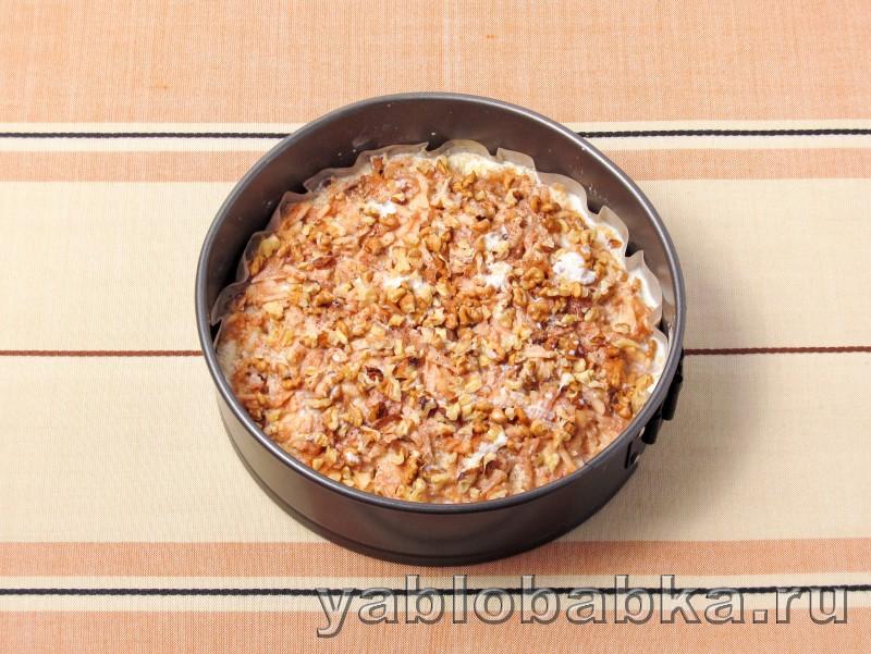 Болгарский яблочный пирог с манкой: фото 8