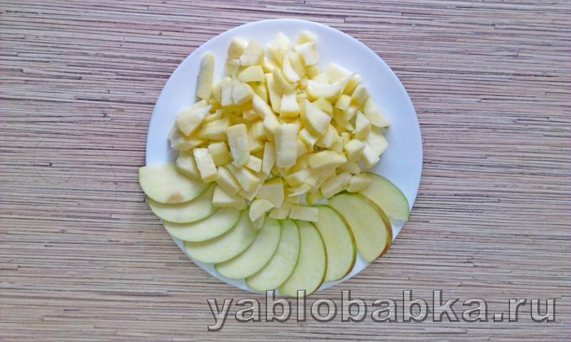 Диетическая шарлотка с яблоками: фото 5