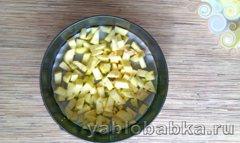Диетическая шарлотка с яблоками: фото 6