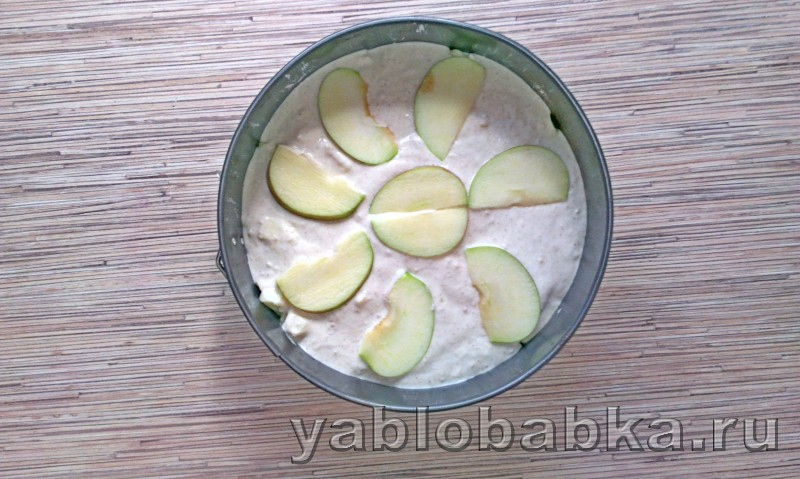 Диетическая шарлотка с яблоками: фото 7