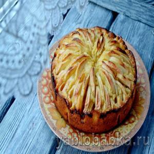 Корнуэльский яблочный пирог – рецепт с фото пошагово
