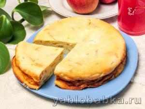 Яблочное суфле – рецепт с фото пошагово в домашних условиях