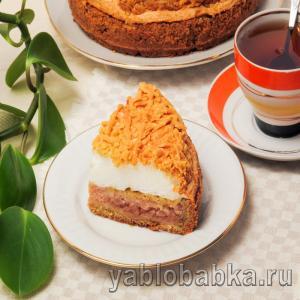 Яблочный пирог с безе – рецепт с фото пошагово в духовке из песочного теста