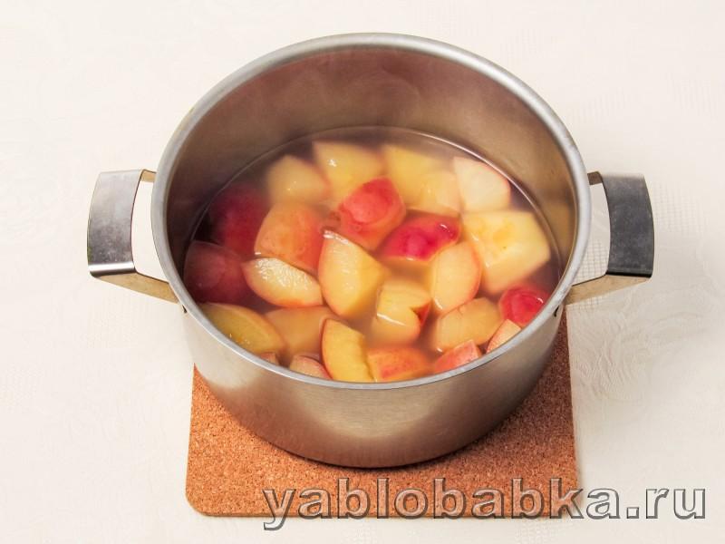 Мусс из яблок с манкой: фото 3