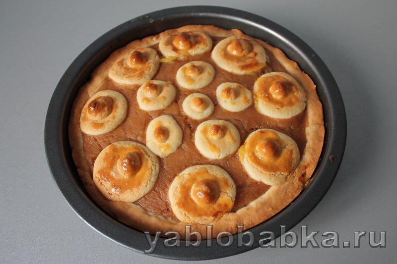 Открытый пирог с повидлом: фото 7