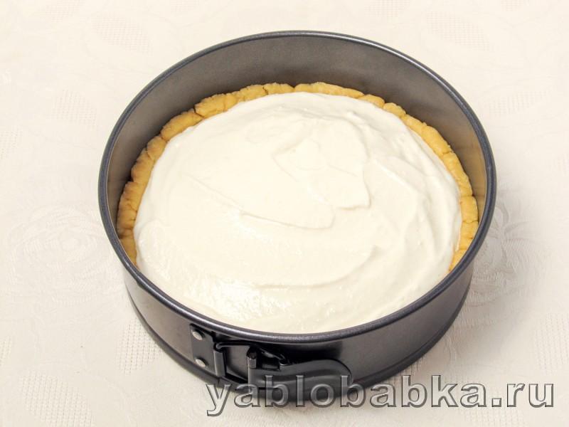 Песочный пирог с творогом и яблоками простой рецепт: фото 10