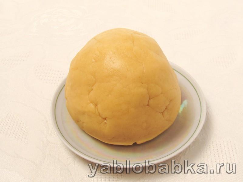 Песочный пирог с творогом и яблоками простой рецепт: фото 4