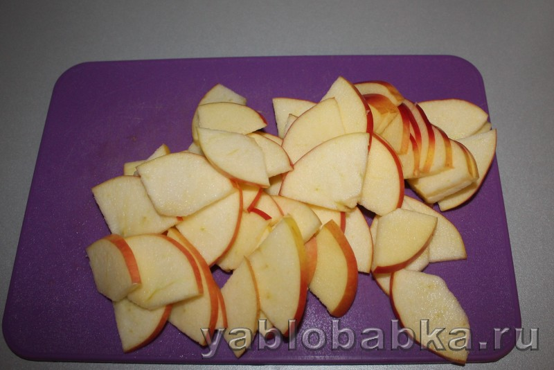 Песочный пирог с яблоком: фото 3