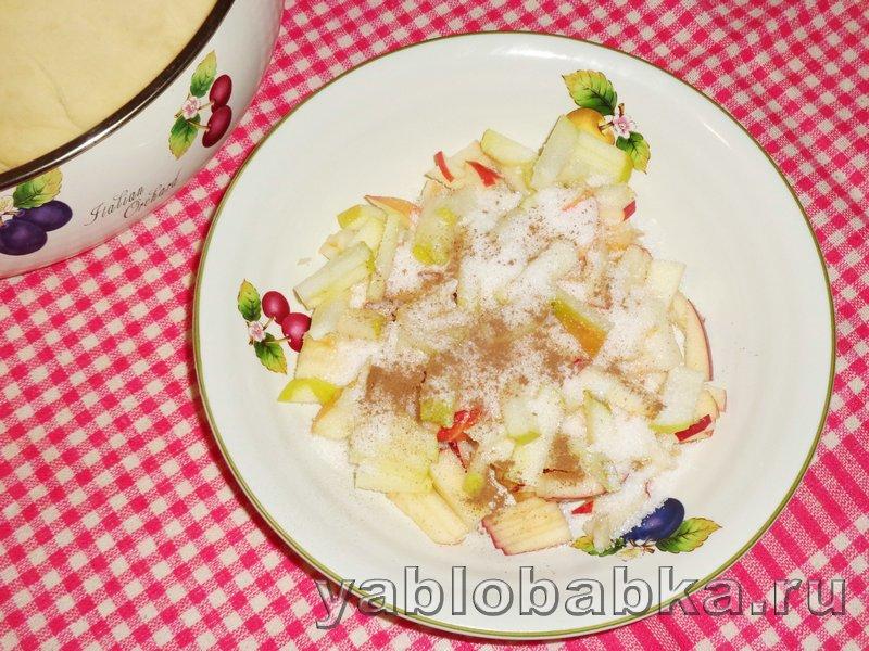 Пирог с яблоками и корицей дунай: фото 11