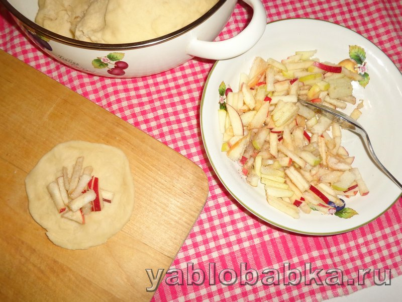 Пирог с яблоками и корицей дунай: фото 12