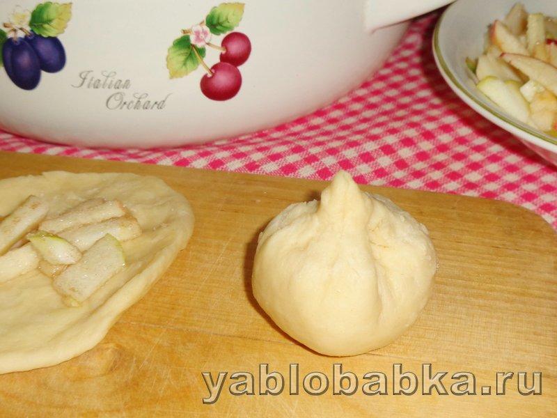 Пирог с яблоками и корицей дунай: фото 13