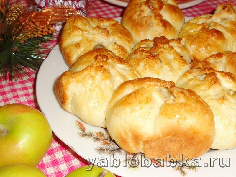 Пирог с яблоками и корицей дунай: фото 14