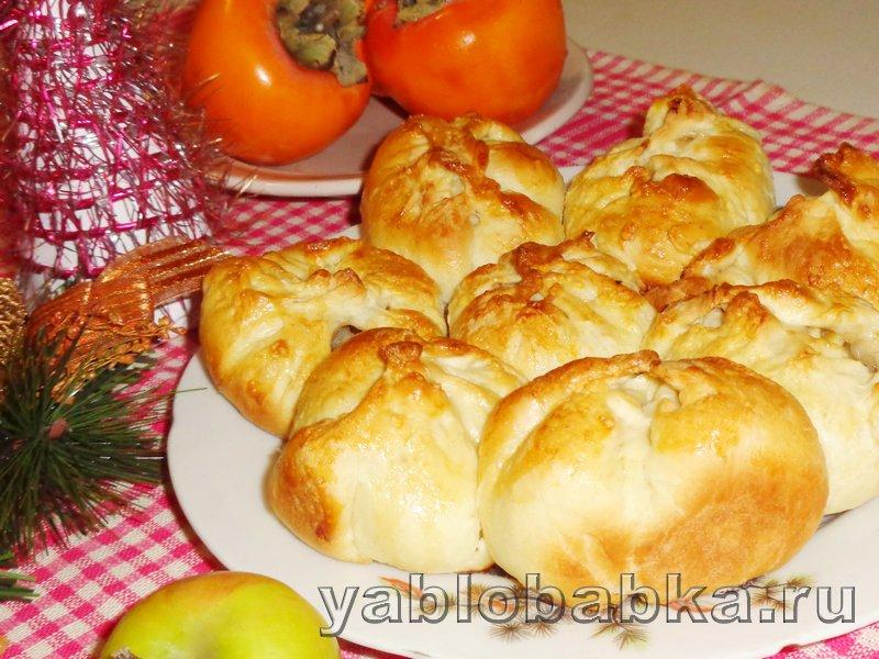 Пирог с яблоками и корицей дунай