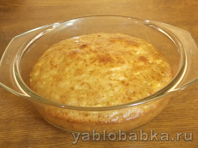 Пирог яблочно морковный: фото 7
