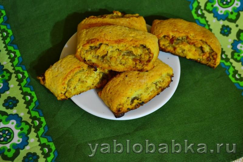 Пирожное с орехово яблочной начинкой: фото 9