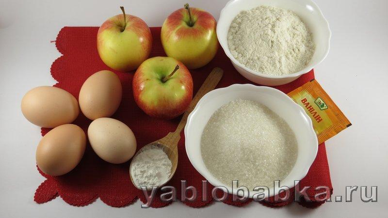 Рецепт шарлотки с яблоками простой и вкусный: фото 1