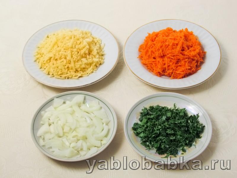Салат франтсузский с яблоком и морковью без майонеза: фото 3