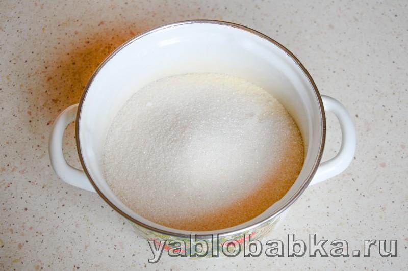 Шарлотка на йогурте с яблоками без яиц: фото 2