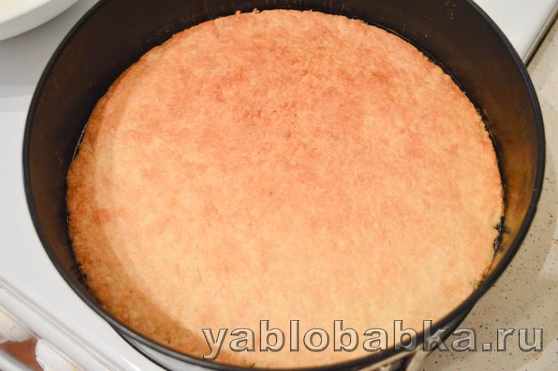 Шарлотка с маслом сливочным яблоками и сметанным желе: фото 8