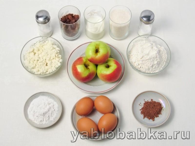 Шарлотка с яблоками и изюмом рецепт пошагово самый воздушный