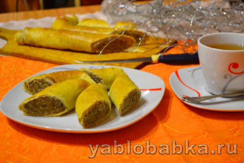 Штрудель с грецкими орехами: фото 7