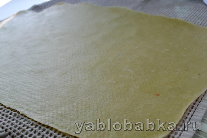 Штрудель с капустой и картошкой: фото 6