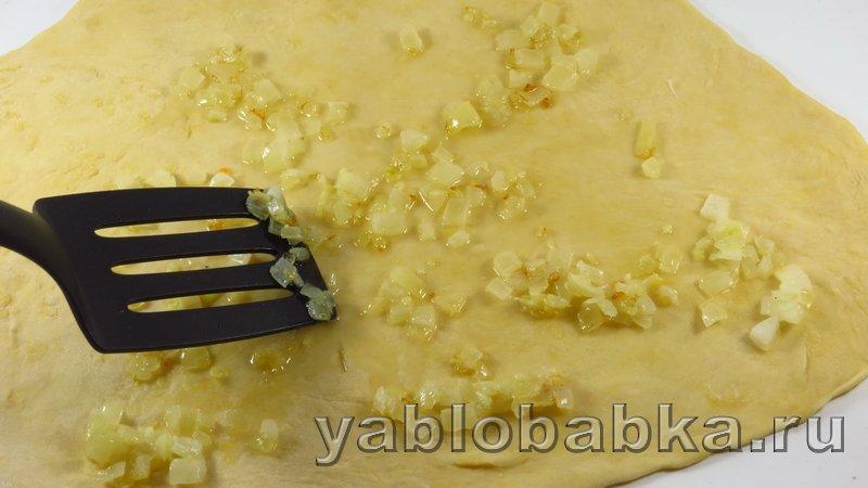 Штрудель с мясом и картошкой: фото 10