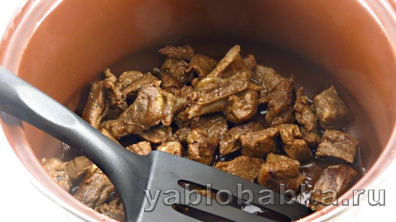 Штрудель с мясом и картошкой: фото 4