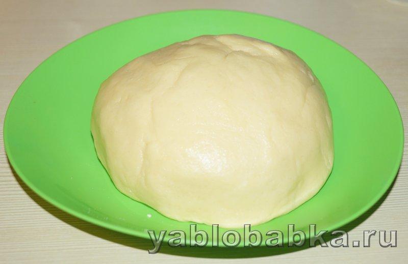Творожно яблочный пирог: фото 3