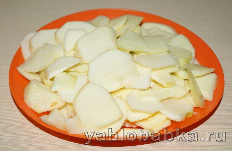 Творожно яблочный пирог: фото 5