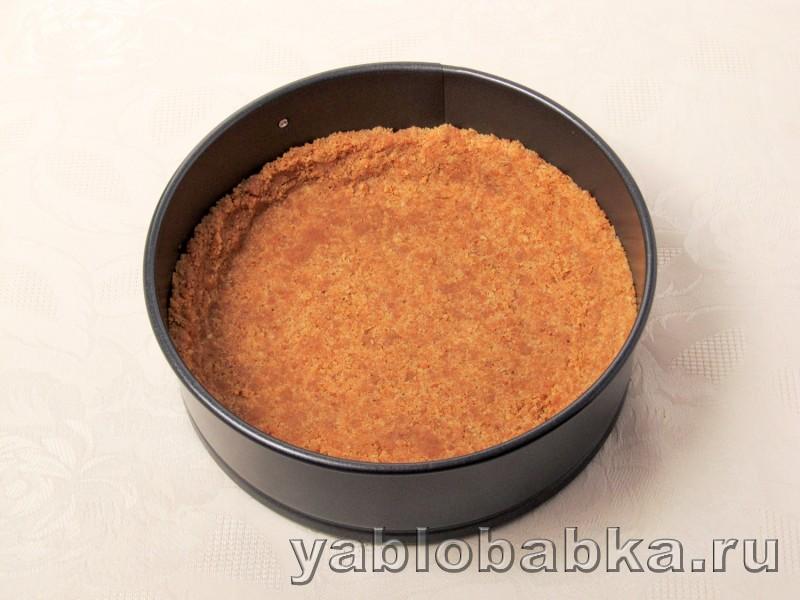 Тыквенный чизкейк рецепт с творогом и яблоками: фото 3